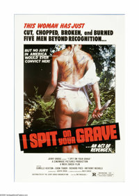 "I Spit on Your Grave (Cinemagic Pictures, 1978). One Sheet (27"" X 41""). Offered here is an original poster for..."
