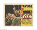 "Movie Posters:Film Noir, Johnny Eager (MGM, 1942). Title Lobby Card (11"" X 14""). Offered here is an original lobby card for this film noir directed b..."