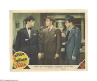 """Johnny Eager (MGM, 1942). Lobby Cards (3) (11"""" X 14""""). Offered here are three original lobby cards for this fi..."""