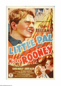 """Little Pal (Monogram, 1935). One Sheet (27"""" X 41""""). Offered here is an original poster for this drama starring..."""