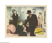 """Lucky Nick Cain (20th Century Fox, 1951). Lobby Card (11"""" X 14""""). Offered here is an original lobby card for t..."""