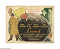 """Movie Posters:Mystery, Lured (United Artists, 1947). Title Lobby Card (11"""" X 14""""). Offered here is an original lobby card for this thriller directe..."""