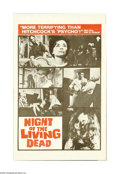 Movie Posters:Horror, Night of the Living Dead (Continental, 1968). Herald. Offered here is an original herald for this horror/thriller directed b...