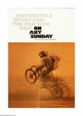 "Movie Posters:Documentary, On Any Sunday (Cinema 5 Distributing, 1971). One Sheet (27"" X 41""). Offered here is an original poster for this racing docum..."