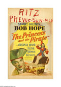 "Movie Posters:Comedy, The Princess and the Pirate (RKO, 1944). Window Card (14"" X 22""). Offered here is an original poster for this comedy starrin..."