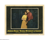 "Rebel Without a Cause (Warner Brothers, 1955). Lobby Card (11"" X 14""). Offered here is an original lobby card..."