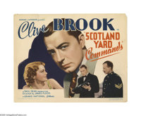 "Scotland Yard Commands (Grand National, 1936). Title Lobby Card (11"" X 14""). Offered here is an original lobby..."