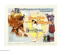 """Snow White and the Three Stooges (20th Century Fox, 1961). Half Sheet (22"""" X 28""""). This lot contains an origin..."""