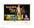 "Movie Posters:Action, Some Girls Do (United Artists, 1970). Half Sheet (22"" X 28""). This lot contains an original poster for this action adventure..."