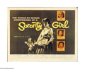 "Movie Posters:Bad Girl, Sorority Girl (American International, 1957). Half Sheet (22"" X 28""). Offered here is an original poster for this drama dire..."