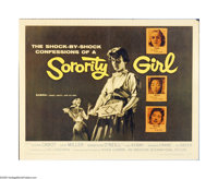 "Sorority Girl (American International, 1957). Half Sheet (22"" X 28""). Offered here is an original poster for t..."