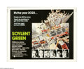 """Movie Posters:Science Fiction, Soylent Green (MGM, 1973). Half Sheet (22"""" X 28""""). This is an original poster for this sci-fi thriller directed by Richard F..."""