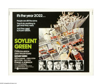 "Soylent Green (MGM, 1973). Half Sheet (22"" X 28""). This is an original poster for this sci-fi thriller directe..."