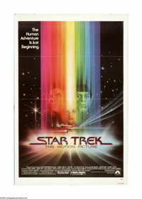 """Star Trek: The Motion Picture (Paramount, 1979). One Sheet (27"""" X 41""""). Offered here is an original poster for..."""
