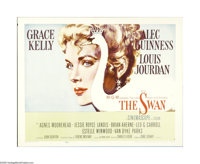 """The Swan (MGM, 1956). Half Sheet (22"""" X 28""""). Offered in this lot is an original poster for this romantic come..."""