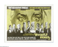 """Movie Posters:Mystery, Ten Little Indians (Seven Arts Pictures, 1966). Half Sheet (22"""" X 28""""). Based on an original Agatha Christie mystery this fi..."""
