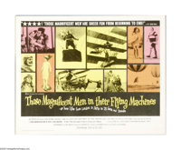 "Those Magnificent Men in Their Flying Machines (20th Century Fox, 1965). Half Sheet (22"" X 28""). In this lot i..."