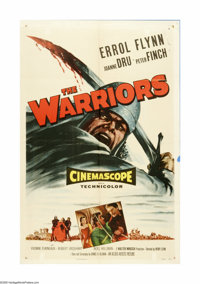 "The Warriors (Allied Artists, 1955). One Sheet (27"" X 41""). Offered here is an original poster for this romant..."