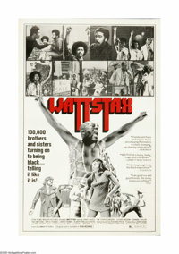 "Wattstax (Columbia, 1973). One Sheet (27"" X 41""). Offered here is an original poster for this music documentar..."
