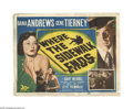 """Movie Posters:Crime, Where the Sidewalk Ends (20th Century Fox, 1950). Title Lobby Card (11"""" X 14""""). Offered here is an original lobby card for t..."""