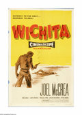 """Movie Posters:Western, Wichita (Allied Artists, 1955). One Sheet (27"""" X 41""""). Offered here is an original poster for this Western directed by Jacqu..."""