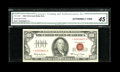 Small Size:Legal Tender Notes, Fr. 1550* $100 1966 Legal Tender Note. CGA Extremely Fine 45.. ...