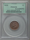 Proof Indian Cents: , 1905 1C PR65 Red and Brown PCGS. PCGS Population: (54/38). NGC Census: (53/23). PR65. Mintage 2,152. . From The Reilly ...