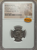 Ancients:Ancient Lots , Ancients: ANCIENT LOTS. Roman Imperial. Claudius II (AD 268-270).Lot of two (2) BI antoniniani. NGC VF-XF.... (Total: 2 coins)