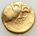 Ancients:Celtic, Ancients: BRITAIN. Durotriges. Ca. 65 BC-AD 45. AV stater (6.35gm). VF....