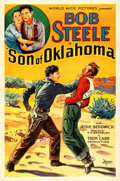 "Movie Posters:War, Son of Oklahoma (World Wide, 1932). One Sheet (27"" X 41"").. ..."
