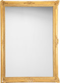 Furniture : Continental, A Neoclassical Giltwood Mirror. 59 h x 48 w x 3 d inches (149.9 x121.9 x 7.6 cm). PROPERTY FROM THE RITTER ANTIK COLLECTI...