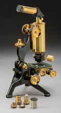 Other, A Cased W. Watson & Sons Compound Monocular Metallurgical Microscope, circa 1928. 12 inches high (30.5 cm) (base). ...