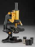 Other, A Cased Spencer Monocular Microscope, retailed by Aloe Co., circa 1925. 11-7/8 inches high (30.2 cm) (base). ...