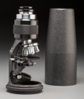 Other, A Cased Hensoldt Wetzlar Protami Traveling Compound Microscope, circa 1939. 6-3/8 inches (16.2 cm) (base). ...