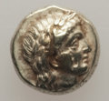 Ancients:Greek, Ancients: LESBOS. Mytilene. Ca. 377-326 BC. EL sixth stater orhecte (2.54 gm). AU, test cut, bankers mark....