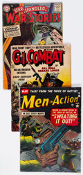 Golden Age (1938-1955):War, Comic Books - Assorted Golden Age War Comics Group of 16 (Various Publishers, 1950s) Condition: Average VG.... (Total: 16 Comic Books)