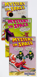 Silver Age (1956-1969):Science Fiction, Mystery in Space Group of 27 (DC, 1962-65) Condition: AverageVG.... (Total: 27 Comic Books)