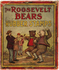 Political:3D & Other Display (1896-present), Theodore Roosevelt: Charming Roosevelt Bears Stamp Set....