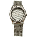 Estate Jewelry:Watches, John Hardy Gentleman's Sterling Silver Watch. ...
