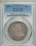 Early Half Dollars, 1805 50C O-109, T-14, R.4, Good 6 PCGS. PCGS Population: (1/4). NGCCensus: (0/3). ...