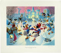 """Original Comic Art:Miscellaneous, Carl Barks - """"Mardi Gras Before the Thaw"""" Regular EditionLithograph #4/350 (Another Rainbow, 1992). ..."""