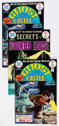 Bronze Age (1970-1979):Horror, Tales of Ghost Castle #1/Secrets of Haunted House #1 Group (DC,1975) Condition: Average NM-.... (Total: 4 Comic Books)