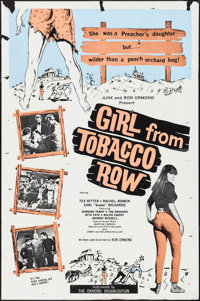 "Girl from Tobacco Row (Ormond, 1966). Folded, Fine+. One Sheet (26.75"" X 40.5""). Exploitation"