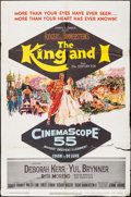 "Movie Posters:Musical, The King and I (20th Century Fox, 1956). One Sheet (27"" X 41""). Musical.. ..."