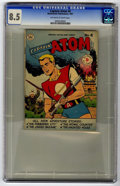 Golden Age (1938-1955):Science Fiction, Captain Atom #4 (Nationwide Publications, 1951) CGC VF+ 8.5