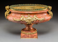 Decorative Arts, French, A Napoleon III-Style Gilt Bronze Mounted Marble Jardinière, circa1900. 10 h x 14-1/2 w x 9-1/2 d inches (25.4 x 36.8 x 24.1...