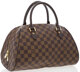 "Louis Vuitton Damier Ebene Canvas Ribera Bag Excellent Condition 12"" Width x 7.5"" Height x 7.5"" Depth Thi..."