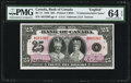 Canadian Currency, BC-11 $25 1935.. ...