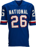 Football Collectibles:Uniforms, 1970 Mel Farr Pro Bowl Game Worn Jersey.. ...