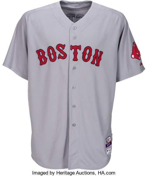 more photos 3521e 8f6a1 Auctions Boston To Lot Sox Jon 50391 Heritage Jersey 2014 ...